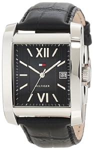 Tommy Hilfiger Men's 1710317 Classic Tank Roman Numeral Enamel Dial Watch