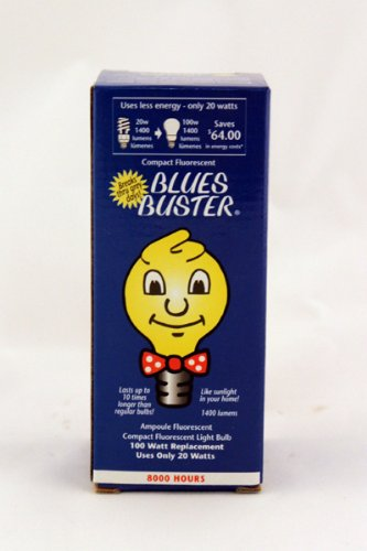 Fluorescent Bulb - 20 Watt 1 Count