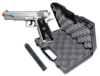 Tactical 1911 CO2 Silver  Version airsoft gun