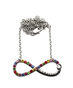 Xc254 Iced Out One Direction Infinity Directioner Pendant W18 Chain Necklace from NYfashion101inc