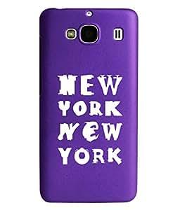 KolorEdge Back Cover For Xiaomi Redmi 2- Purple (2002-Ke15115Redmi2Purple3D)