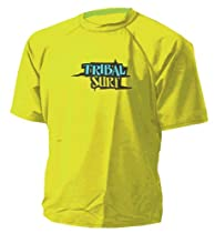 Loose fit Mens Rash Guard (Yellow - XL)