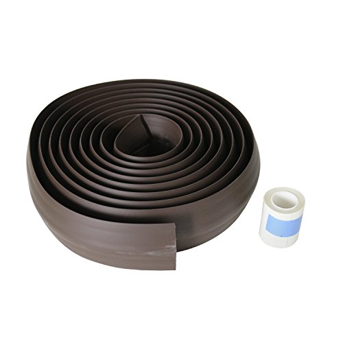 C2G/ Cables To Go 16330 15' Wire Mold Conduct Over floor Cord Protector, Brown (Cord Protector Cover compare prices)
