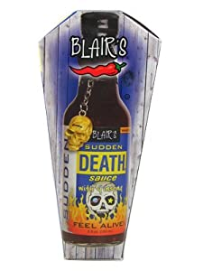 Blairs Sudden Death Hot Sauce with Ginseng, 5 fl oz