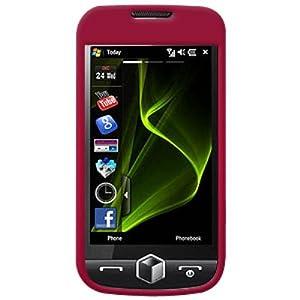 Amzer Polished Snap-On Crystal Hard Case for Samsung Omnia 2 i8000 - Rose Pink