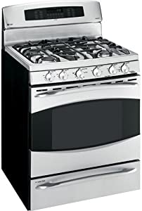 GE Profile : PGB975SEMSS 30 Gas Range with 5 Sealed Burners