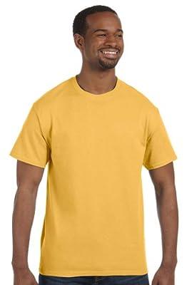Hanes - 6 oz. Tagless T-Shirt >> 3XL,GOLD NUGGET