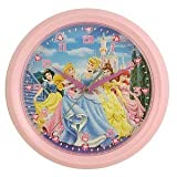 Disney Princess 8 in Round Wall Clock