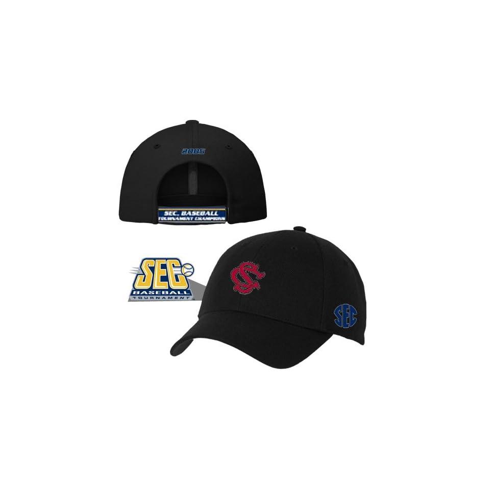 South Carolina Gamecocks 2005 SEC Baseball Champions Black Hat