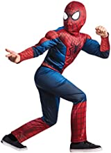 Rubies Costume Marvel Comics Collection: Amazing Spiderman 2 Deluxe Spiderman Costume, Child Small