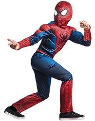 Rubies Marvel Comics Collection, Amazing Spider-man 2, Deluxe Spider-man Costume, Child Medium - Chi