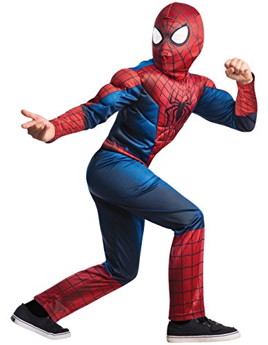 Rubie's Marvel Comics Collection, Amazing Spider-man 2, Deluxe Spider-man Costume, Child Small