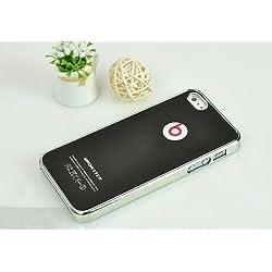 アップル 【iPhone5/5S】Monster Beats By Dr Dre iPhone ケース モンスタービーツ for Apple iPhone5 5S カバー 全7カラー (ブラック(Black))