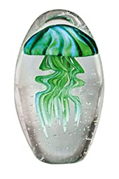 Jellyfish Glass, Green