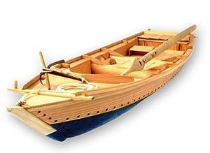 twenty long black sea bream fishing boat wooden model tosa japanese