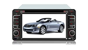 Eagle for 2004-2011 TOYOTA Solara Car GPS Navigation DVD Player Audio Video System with Radio (AM/FM),Bluetooth Hands Free,USB, AUX Input,(free Map),Plug & Play Installation
