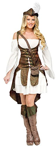 Robin Hood Adult Costume Lg 12-14 Halloween Costume