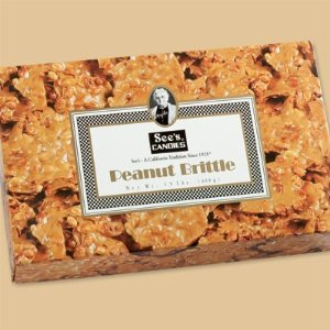 See's Candies 1.5 lbs. (680g) Peanut Brittle