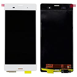 Online For Good(TM) Full LCD Touch Digitizer Screen Replacement for Sony Xperia Z3 LCD D6603 D6653 L55t - White