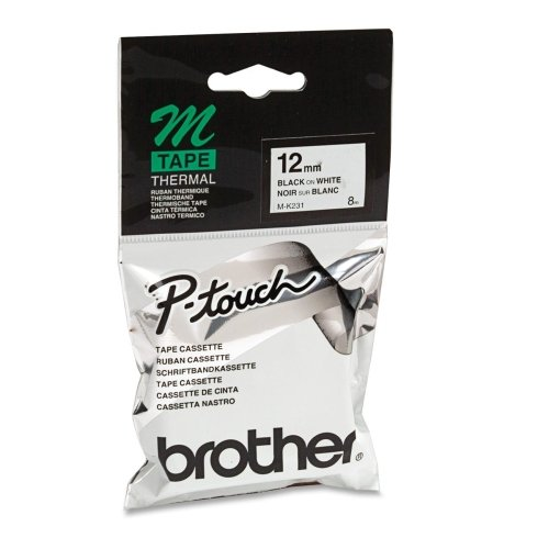 BROTHER M231 / M231 Lettering Tape (Brother M231 Tape compare prices)