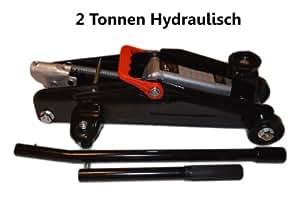 Cric hydraulique automobile 2 tonnes