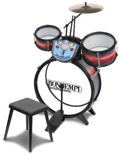 bontempi-50-x-50-x-68cm-drum-set-with-rhythm-tutor-and-stool-dim