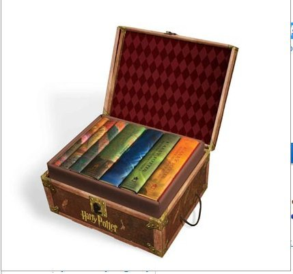 Cover of Harry Potter Hardcover Boxed Set: Books #1-7 [With Stickers