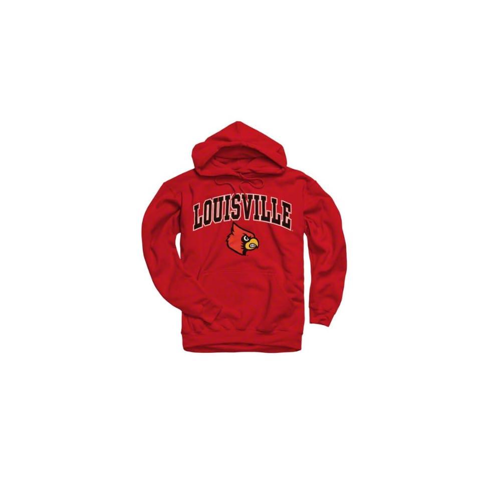 Louisville Cardinals Red Perennial Ii Hooded Sweatshirt