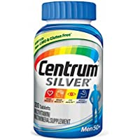 200-Count Centrum Silver Men 50+ Multivitamin / Multimineral Supplement Tablet