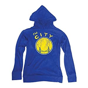Golden State Warriors NBA Hacci Slub Hooded T-Shirt 2XL by Majestic Threads