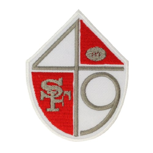 San Francisco 49ers Logo II Embroidered Iron Patches at Amazon.com