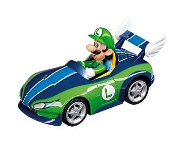 Carrera mario kart wii wild wing luigi slot for Coupe miroir mario kart wii