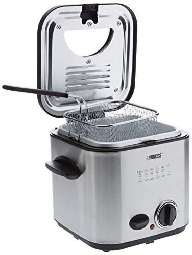 Princess-182611-Mini-freidora-y-fondue-capacidad-de-12-l-color-plateado