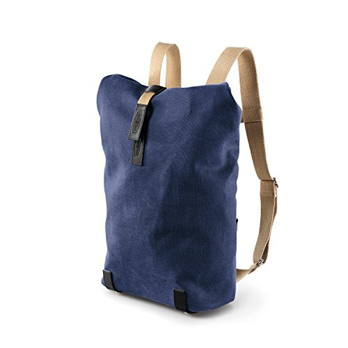 Brooks Pickwick Canvas Small Backpack-Zaino, basil green/turquoise (blu) - 80030647