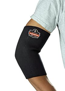 ProFlex 650 Neoprene Elbow Sleeve, Black, Medium