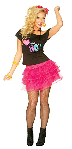 Costume Culture Women's 80's Petticoat Skirt,