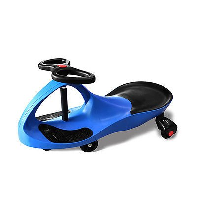 Twistcar Roller Twist Car Kids Ride On Wiggle Outdoor Play Swing Vehicle Blue (Fast Power Wheels For Boys 5 Up compare prices)
