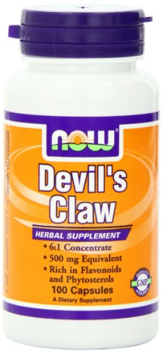 Now Foods Devil'S Claw, 100 Capsules (Pack Of 3)