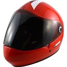 T8-Racer Downhill Longboard Helmet L/XL - Red CPSC/ATSM