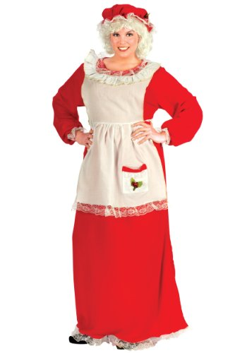 Fun World - Mrs. Claus Adult Plus Costume