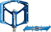 Straitline AMP Bike Pedals, Blue, 9/16-Inch