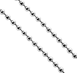 SecureLine CH5068S2 #36 6-Foot Ball Chain, Chrome (2-Pack)