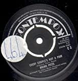 "EVERY COUPLE'S NOT A PAIR 7"" (45) UK CONTEMPO 1973 B/W I REFUSE TO KNOW YOUR NAME (C3) LARGE STICKER ON A-SIDE LABEL"