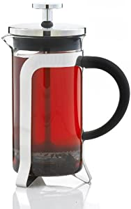 GROSCHE Oxford French Press Coffee and tea maker, 350 ml 11.8fl oz capacity, 3 cup (one coffee mug) size