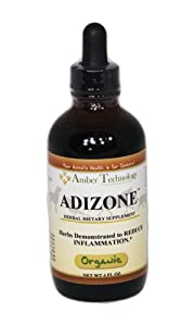 Adizone 4oz- an all natural blend of herbs that was created to help with inflammation, arthritis, and pain in animals