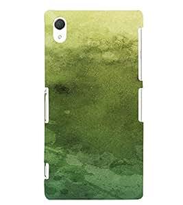 PrintVisa Vintage Canvas Paper Design 3D Hard Polycarbonate Designer Back Case Cover for Sony Xperia Z2