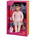 Our Generation Deluxe Sydney Lee 18 Doll with Book and Accessories