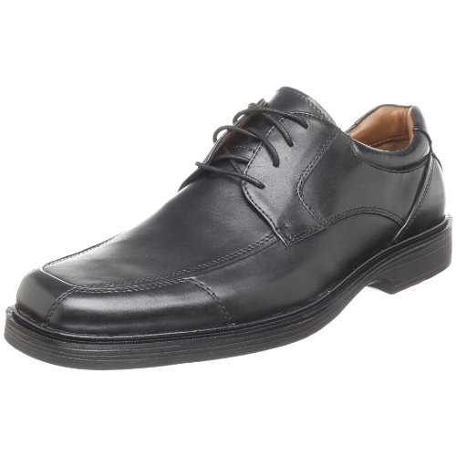 Johnston & Murphy Men's Pattison Oxford,Black,10 M US