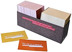 The Storymatic Classic - 540 Unique Cards - Tell Stories, Play Games, Make Art, and More - Includes Booklet with Prompts, Games, and Activities - Made in USA