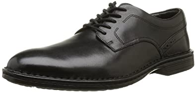 Rockport Men's Rocsportlt Bsn Plt Lace-Up Flats Black Noir (Black) 7.5 (41 EU)